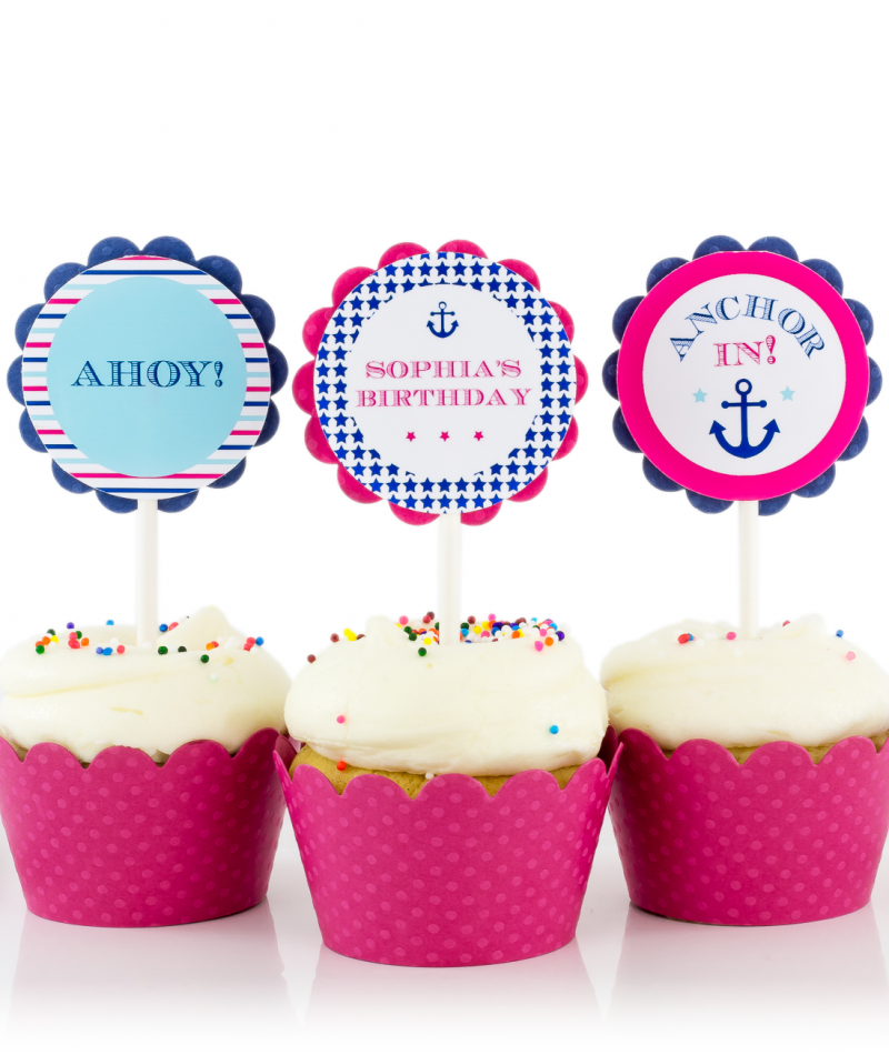 decor decorations birthday supplies party theme first nautical sea