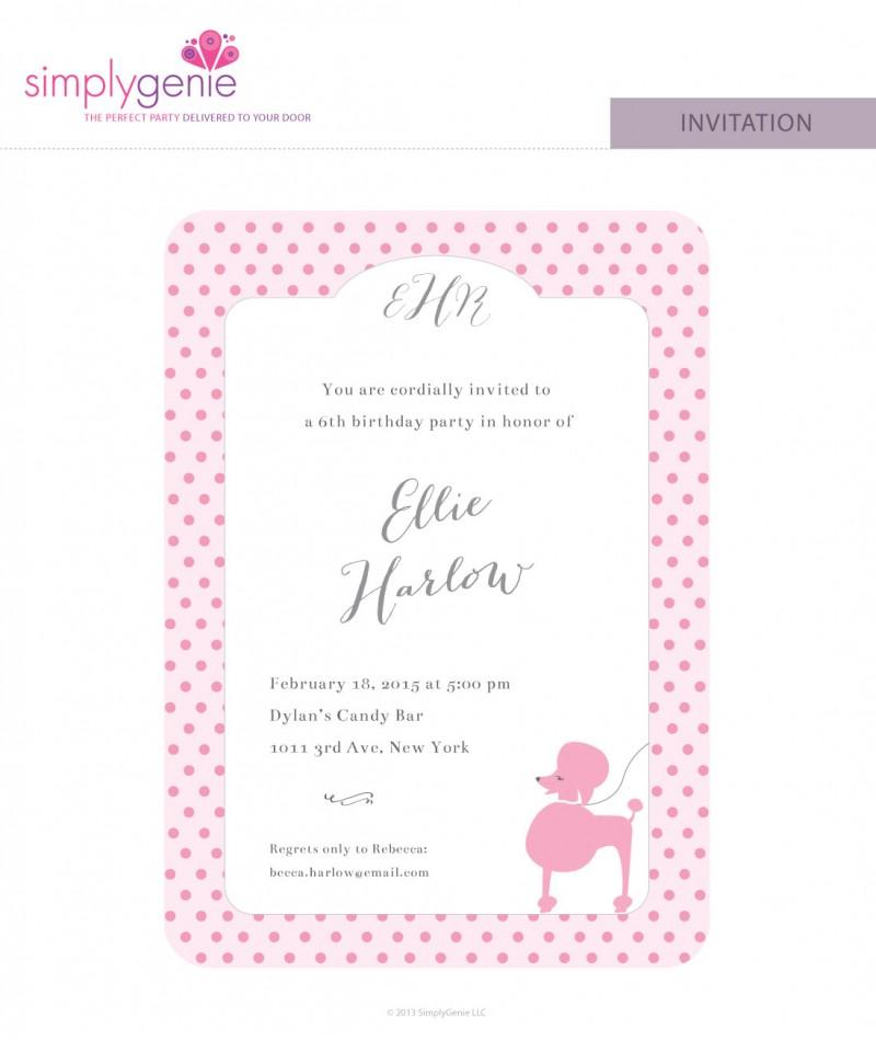 Paris themed birthday party invitations filmwisefo