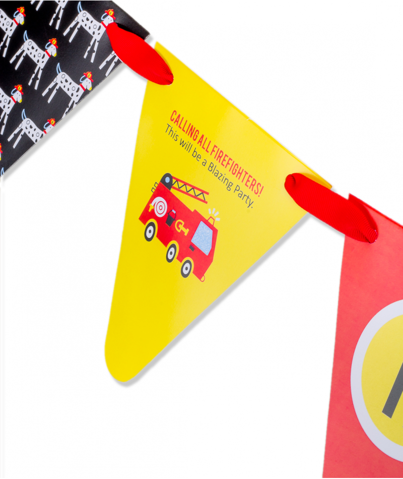 Trolls Happy Birthday Banner We Can Easily Add An: Fire Truck Birthday Party Banner