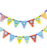 On the Go Birthday Party Banner